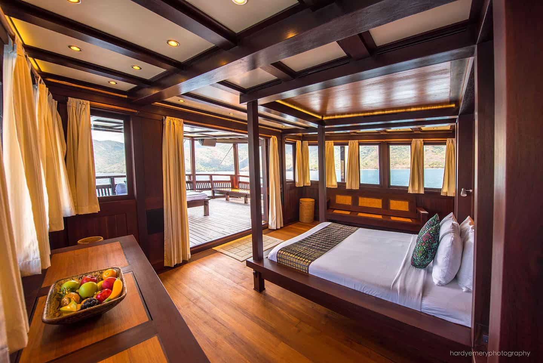 master suite onboard Dunia Baru