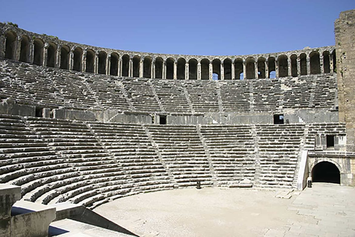 roman theater of aspendos