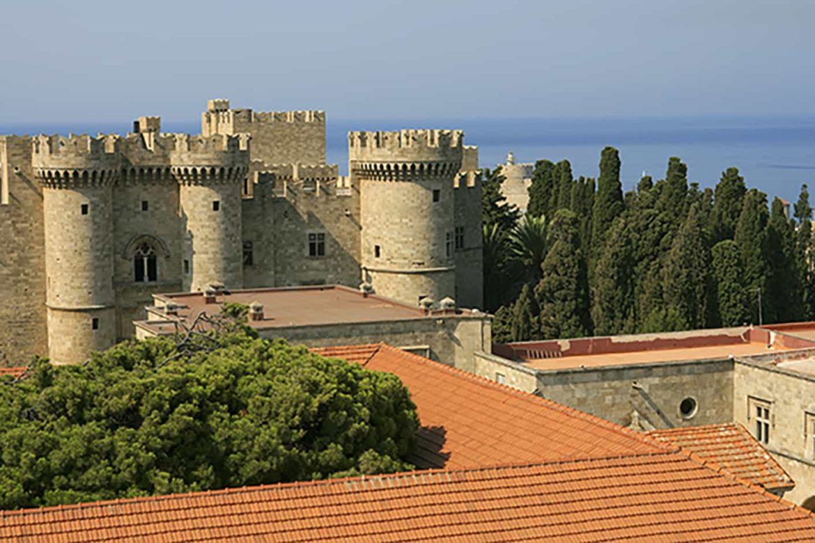 Rhodes, a can't miss site on your Mediterranean yacht charter