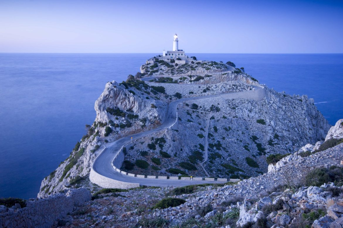 Lighthouse of Cap de Formentor an excellent stop on your superyacht charter