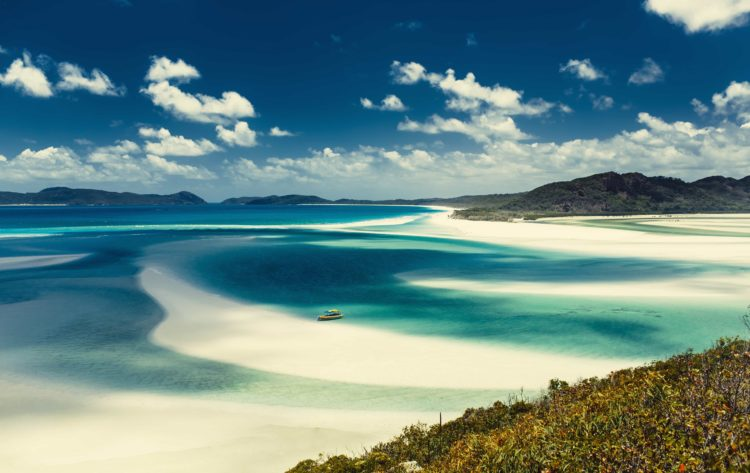 Beautiful beaches like this one await on your Australia yacht vacation