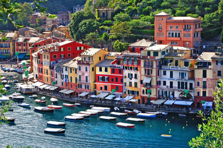 The Italian shoreline