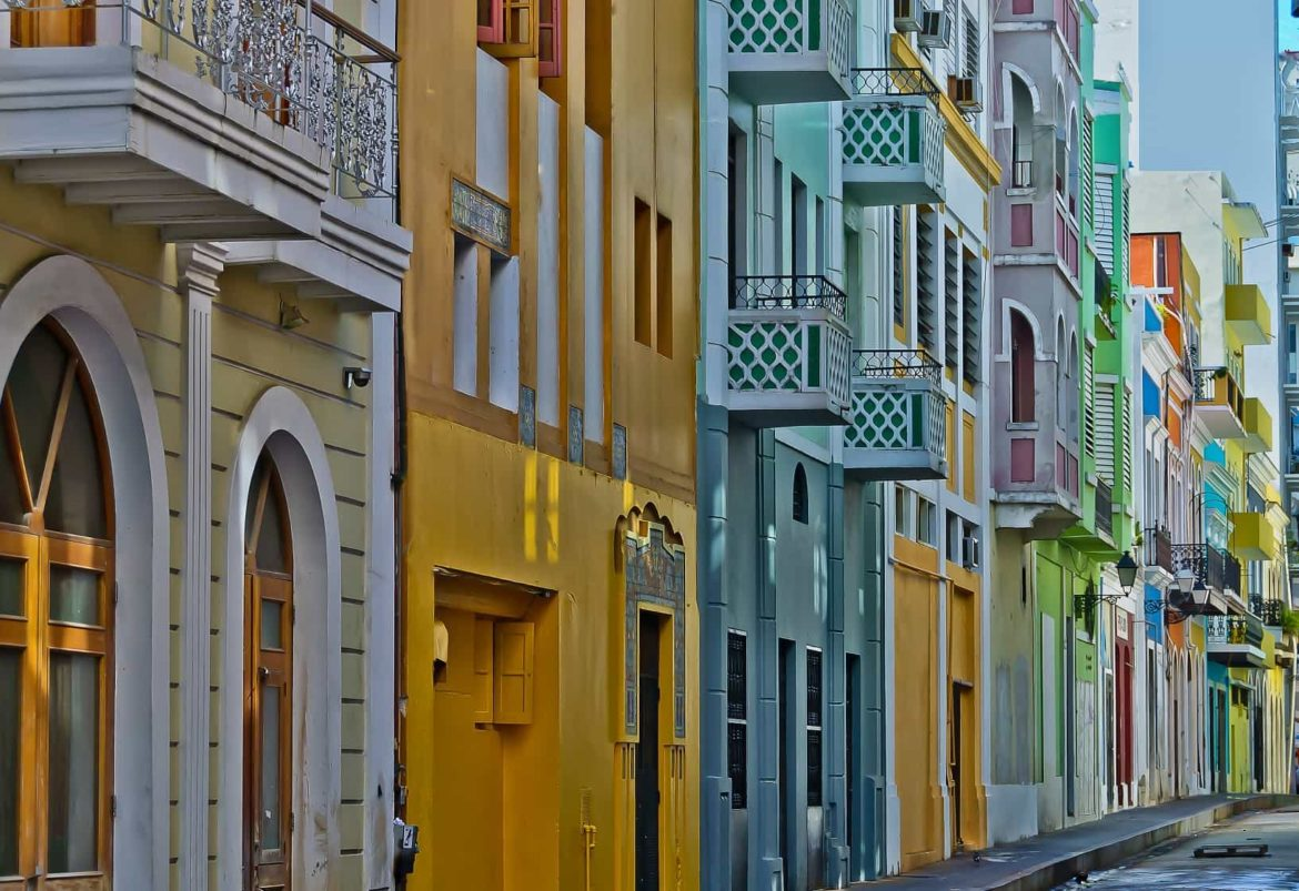 Visit the colourful old town of San Juan on your Puerto Rican yacht charter