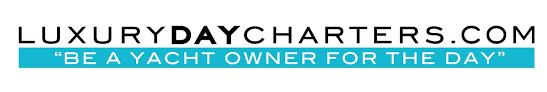 luxury day charters logo